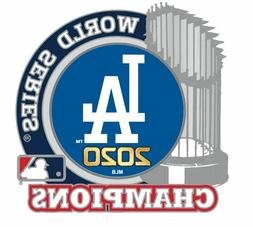 2020 WORLD SERIES CHAMPIONS PIN L.A. DODGERS TROPHY LOS ANGE