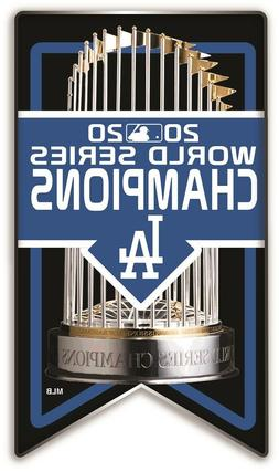 2020 WORLD SERIES PIN L.A. DODGERS CHAMPIONS BANNER LOS ANGE