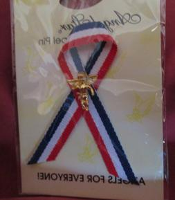 """""""ANGELS FOR EVERYONE"""" LAPEL PIN - SIX - NEW On Cards"""
