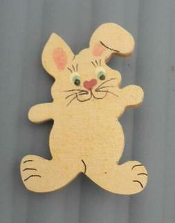 Handmade BUNNY  PIN  BROOCH  Cute for Spring or Easter