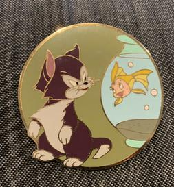 Disney Figaro and Cleo LE 100 Pin Best Friends Pinocchio Auc