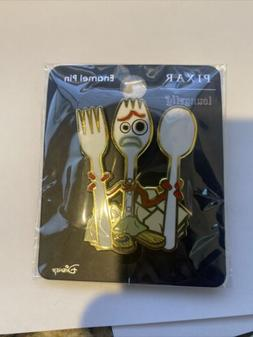 Forky Pin. Disney Pixar Loungefly Toy Story 4 Forky Metal En