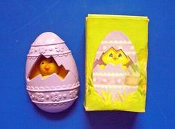Avon FRAGRANCE GLACE Pin Vintage Easter CHICK A PEEP EGG Kid