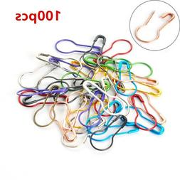 Gourd Shape Safety Pins Metal Clips Tag Pins Clips for DIY C