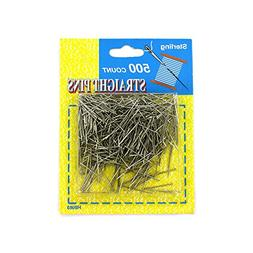 Kole Imports HB063 Straight Pins Value Pack