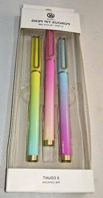 Lot of 2 - 3ct Porous Tip Ombre Pens - UBrands Multicolor -N