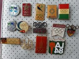 NOC Vintage Badges Olympics Pins NOC all over the world Olym