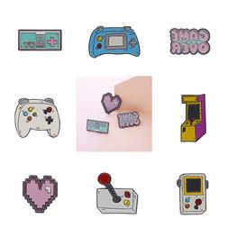 Pin Brooches Badges Backpack Retro Games Different Hard enam