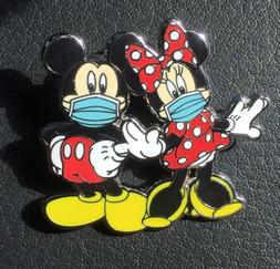 Disney Pin Mickey Mouse Minnie Mouse Pin Mickey In Mask Fant