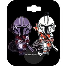 Star Wars Pins Collectible Enamel Rubber Clutch THE MANDALOR