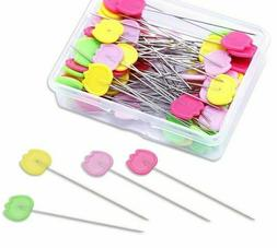 Tulip Pins Patchwork Flat Head Quilting Sewing Dressmaking T